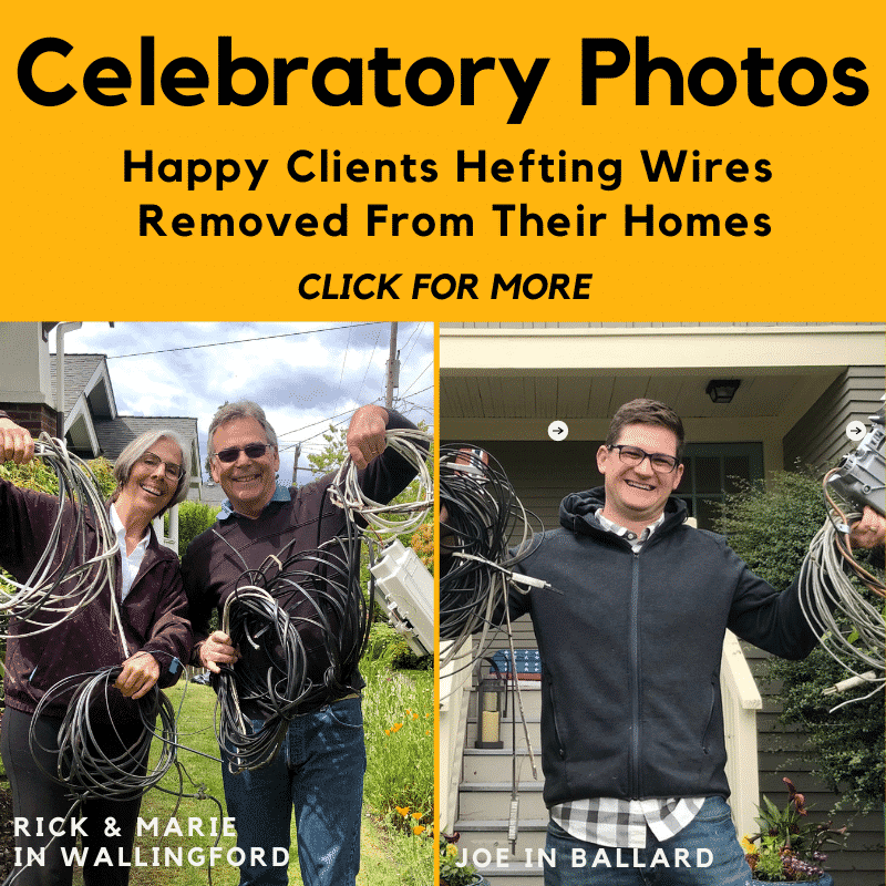 Photos of happy clients - click to see more