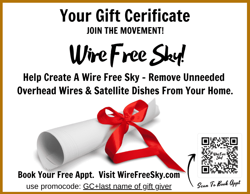 Image of Wire Free Sky gift certificate